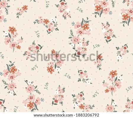 floral pattern, design, summer, flower, vintage, ditsy floral