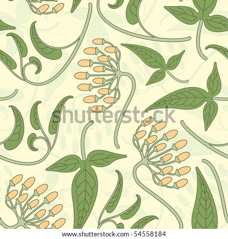 floral pattern in modern style