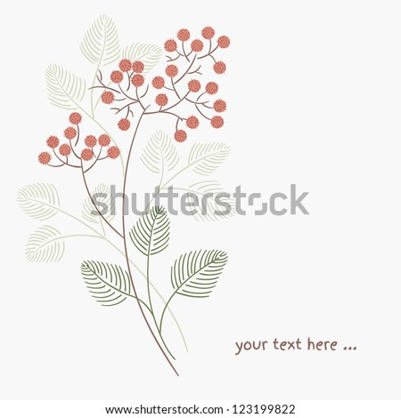 Floral pattern in vector. Web page background.