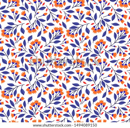 floral pattern pretty flowers