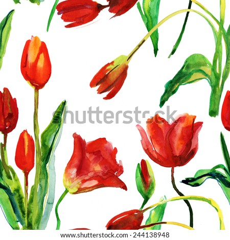 floral pattern vector seamless
