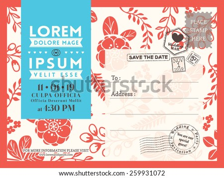 postcard template download free vector art stock graphics images