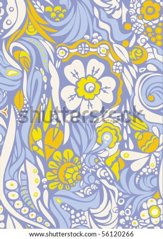 Floral seamless background  - from my big collection