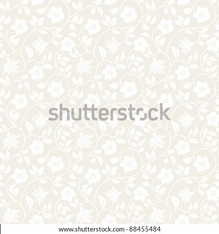 Floral seamless background - pattern for continuous replicate. See more seamless backgrounds in my portfolio.