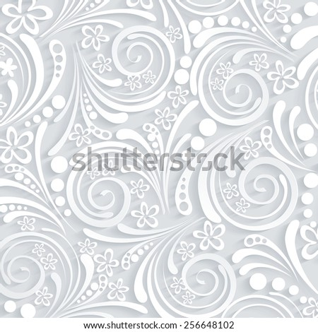 floral seamless pattern can be