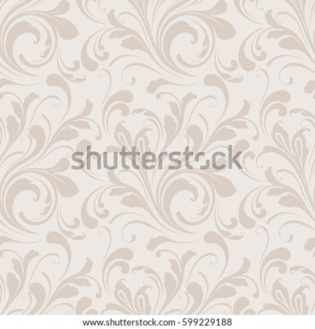 Floral seamless pattern. Soft design. Endless texture for wrapping, textiles, paper.