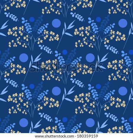 Floral seamless pattern \