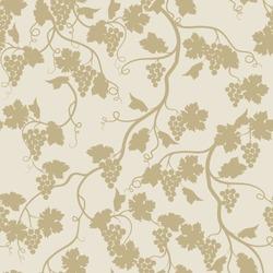 Floral seamless pattern with grape branch. Wineyard retro wallpaper. Garden background