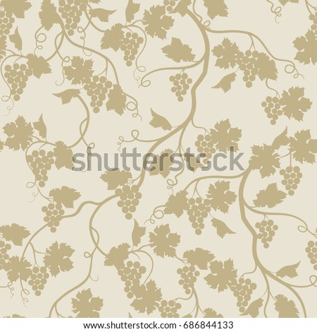 floral seamless pattern with