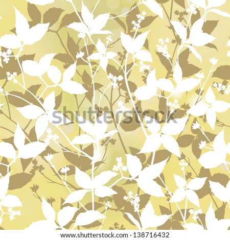 Floral stylish background Elegance Seamless pattern with flowers ornament vector floral illustration in vintage style
