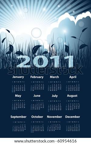 2011 calendar template. 2011 calendar template.