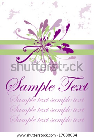 stock vector floral vines vector wedding design background