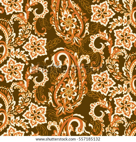 floral vintage background with...
