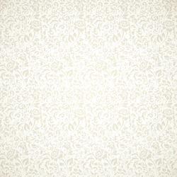 Floral vintage seamless pattern on light background