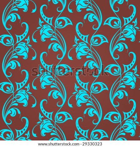 floral wallpaper vector. vector : floral wallpaper