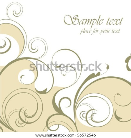 Stock Vector Flores Background 56572546