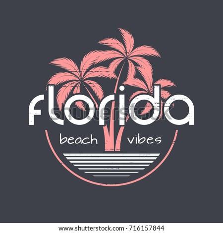 florida beach vibes t shirt and