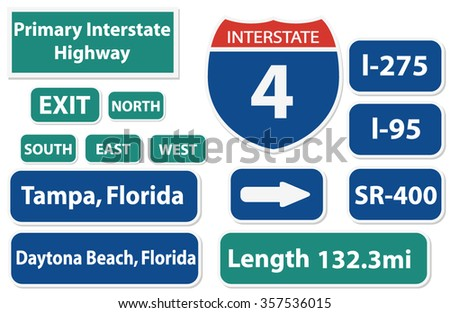 florida highway signs pack