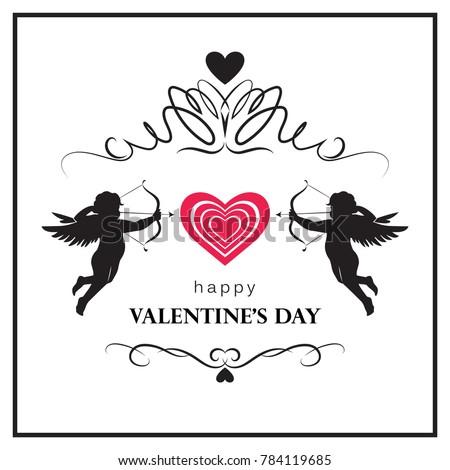 flourish valentine's day card