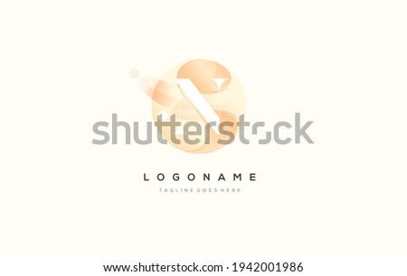 Flow Letter M logo design vector. Letter N logo design with splash Flow color. Letter N modern logo Stock foto ©