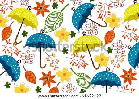 flower and umbrella