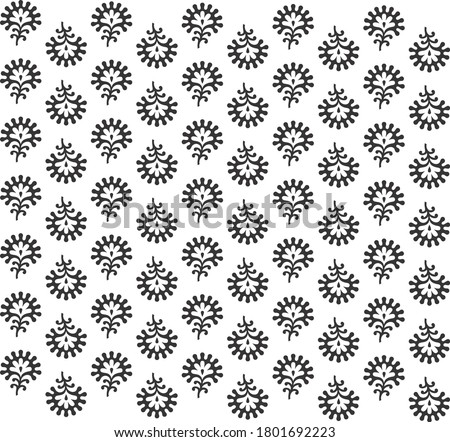 flower buti pattern fabric print and texture or background Zdjęcia stock ©