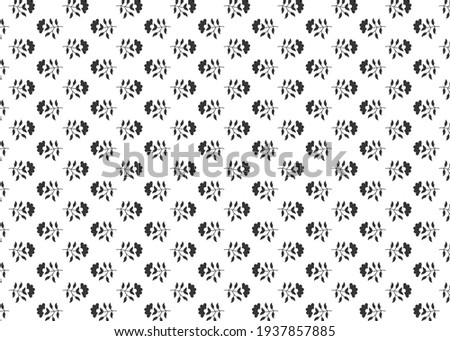 flower buti pattern for fabric print and tiles. background. texture use  Zdjęcia stock ©