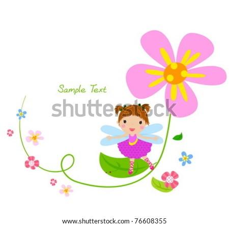flower fairy and flower