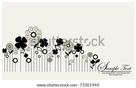flower illustration,vector design
