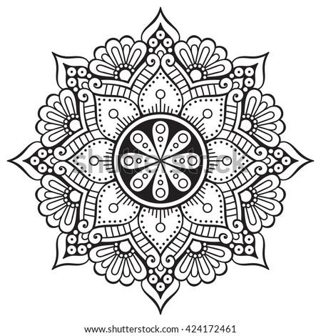 Flower Mandala Designs - The Best Flowers Ideas