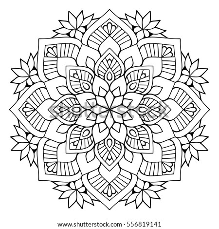 Royalty Free Stock Photos And Images Flower Mandalas