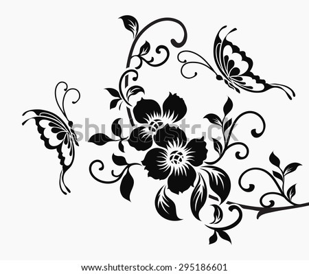 White Butterfly Vector Download Free Vector Art Stock Graphics