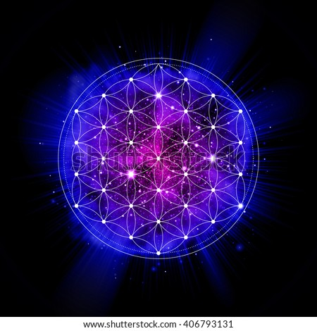 flower of life sign sacred