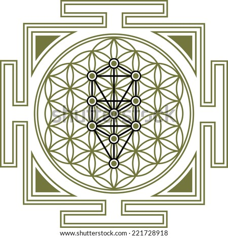 Flower of Life, Tree of Life, Yantra