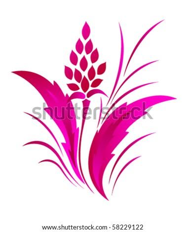 flower pattern tattoo. flower pattern tattoo. stock