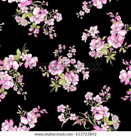 Flower pattern illustration