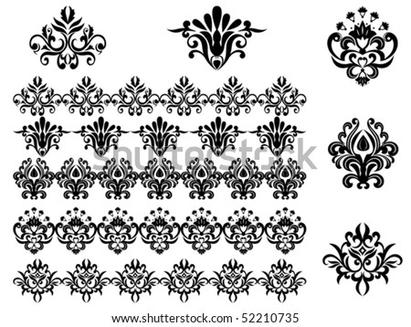 flower patterns and designs. flower patterns and designs.