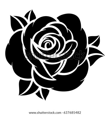 Royalty free stock photos and images flower rose black and white flower rose black and white isolated on white background vector illustration mightylinksfo