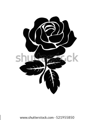 flower rose vector embroidery