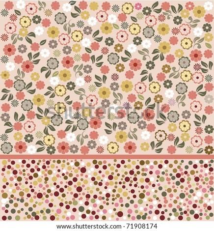 flower seamless background design