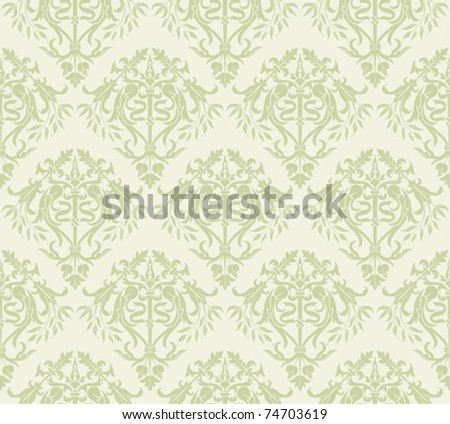 Flower seamless pattern, element for design, vector illustration
