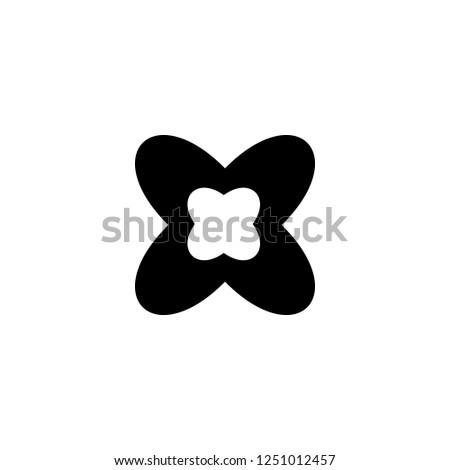 flower 2 vector icon flower 2
