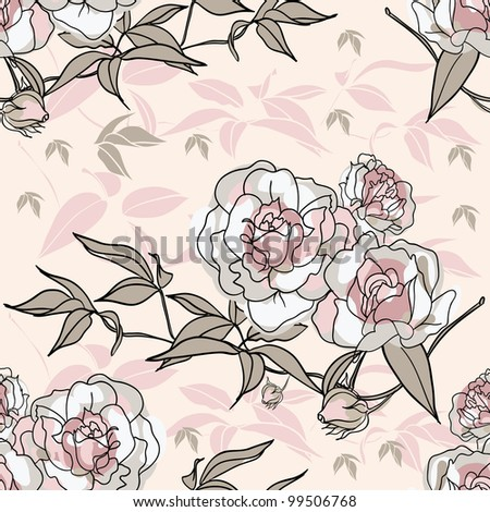 flowers for seamless background