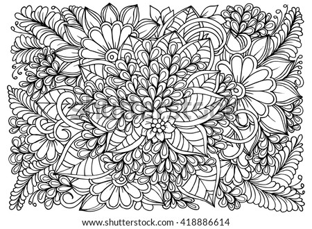 Free Coloring Pages For Adults - Download Free Vector Art, Stock ...