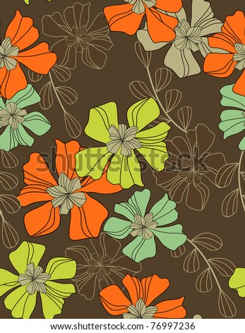 flowers - pattern seamless