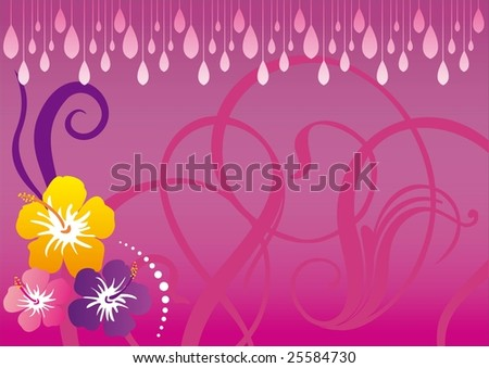 rainy day wallpaper. Flowers with rainy day.