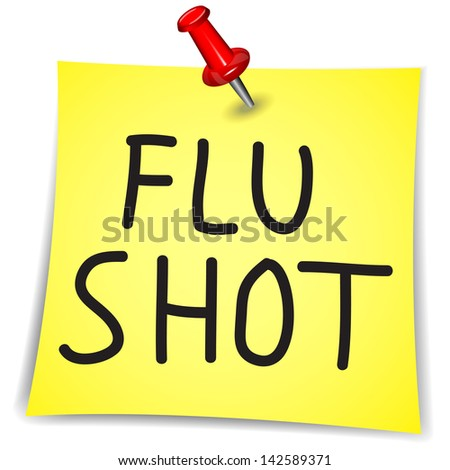Don't Hit Me with Your Flu Shot