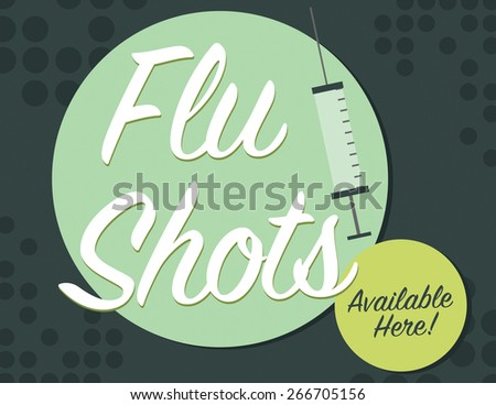 flu shots available here with