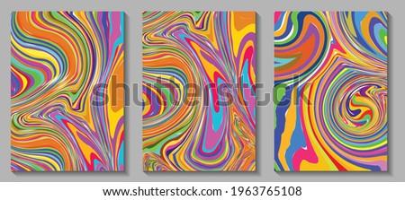 fluid art modern artwork mesh