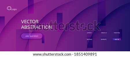 Fluid Background. 3d Flow Line Movement. Color Geometric Pattern. Curve Business Magazine. Violet Wavy Liquid. Gradient Fluid Background. Abstract Texture. Vivid Fluid Background. Сток-фото ©